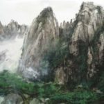 Inspiration From Yellow Mountain, Chinese brush painting by Amy Da-Peng King