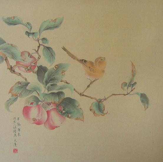 Apple Tree and Bird - I