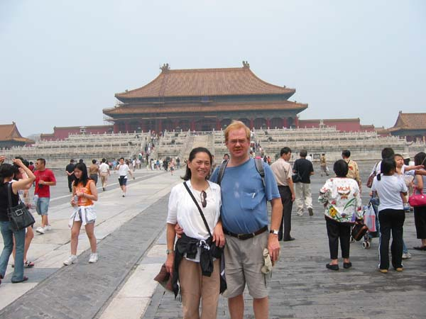 Amy in the Forbidden City