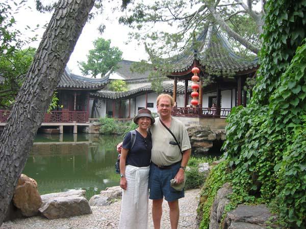 Amy at  Suzhou Garden