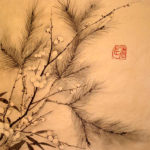 Three trees - Pine, Bamboo and Plum blossom.