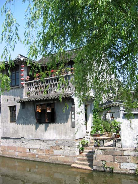 Xitang house on the waterways.