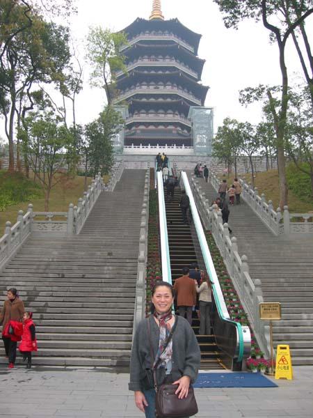 Pagoda at the China Art Academy