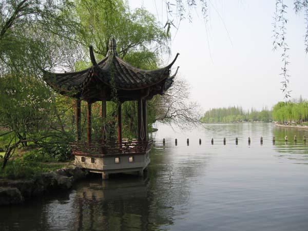 Westlake tiny pagoda.